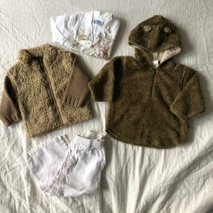 Jean Bourget lot of 4 boy items